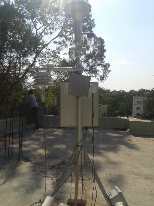 Air sensors in Hyderadad India